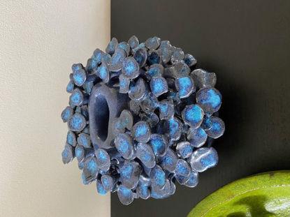 Afbeeldingen van Paddenstoelen vaas Blauw
